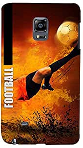 PrintVisa Sports Football Case Cover for Samsung Galaxy Note Edge