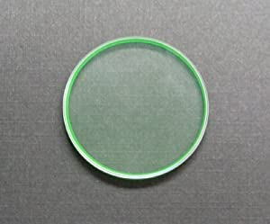 3 Sapphire Watch Crystal for Rolex Milgauss Green 116400 #1