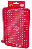 Jelly Belly Universal Neoprene Zipped Sleeve Case Cover with Scented Label for 7 inch Laptop, Tablet or e-Reader - Very Cherry