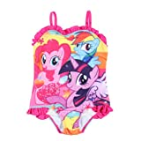 My Little Pony Girls Toddler Swimsuit 12M-5T (4T)