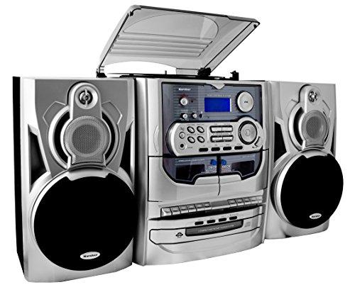 karcher-ka-5300-kompaktanlage-3-fach-cd-wechsler-schallplattenspieler-kassettendeck-radio-fernbedien