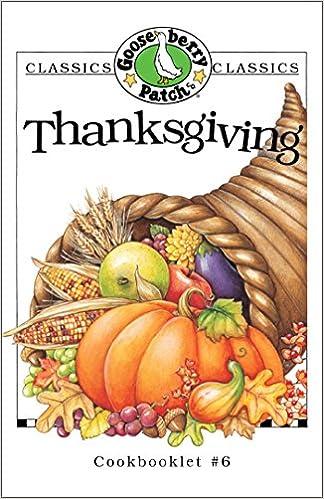 Thanksgiving Cookbook (Classic Cookbooklets)