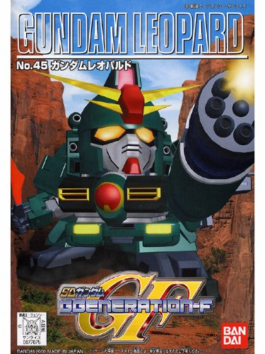 SD 45 G Generation-F Gundam Leopard Model Kit BB