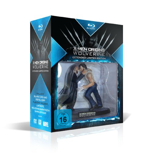 X-Men Origins: Wolverine (Extended Limited Edition inkl. DVD-Film mit Digital Copy + Sammelfigur) [Blu-ray]
