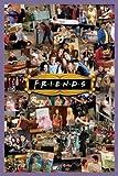 1art1 58678 Poster Friends Montage Scènes de la Série 91 x 61 cm