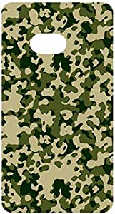 Military Camouflage Forest Green Back Cover Case for HTC One
