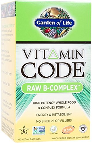 Garden of Life Vitamin Code Vitamin B Complex, 120 Capsules