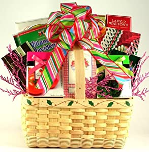 Feliz Navidad! | Gourmet Spanish Christmas Gift Basket of Premium Treats