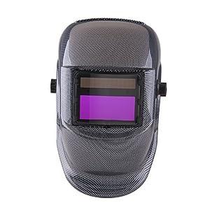 Carbon Fiber Auto Darkening Grinding Welding Welder Helmet Mask ARC MIG from ppmarket