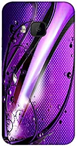 Timpax protective Armor Hard Bumper Back Case Cover. Multicolor printed on 3 Dimensional case with latest & finest graphic design art. Compatible with HTC M9 Design No : TDZ-26446
