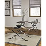 Freimore Brown/Black Occasional Table Set (Set of 3)