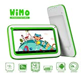 ProntoTec 7 inch KidTab C71R Android Tablet PC for Kids - Android 44 KitKat OS - Dual Core A23 Cortex A7 CPU Dual Cameras 4GB - Wi-Fi - Perfect gift for your love Green