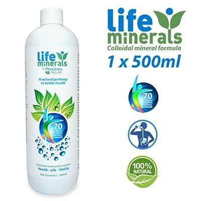 Life Minerals 500ml (Colloidal Minerals formula) from Precious Health