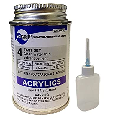 Weld-on 4 Acrylic Plastic Adhesive