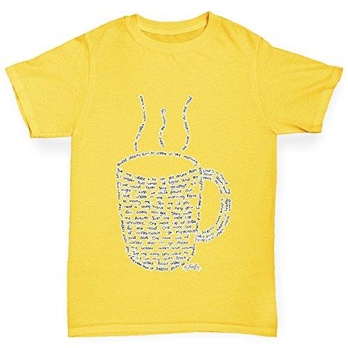 TWISTED ENVY - Top - Maniche corte  - Bambina giallo X-Large