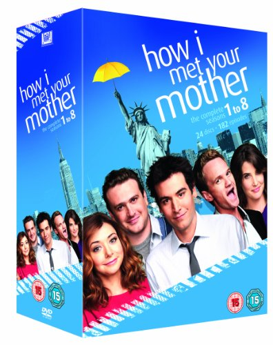 How I Met Your Mother (Complete Seasons 1-8) - 24-DVD Box Set ( How I Met Your Mother - Complete Seasons One thru Eight (182 Episodes) ) [ NON-USA FORMAT, PAL, Reg.2 Import - United Kingdom ] (How I Met Your Mother Season 6 compare prices)