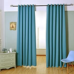H Versailtex High Quality Thermal Insulated Extra Wide Blackout Curtain Panels