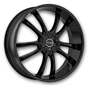 AKUZA WHEELS SHADOW GLOSS BLACK 5X110/5X4.5 +35 – 24X8.5