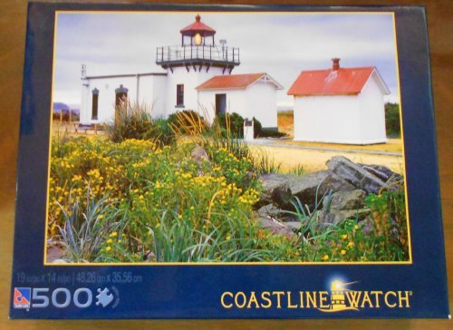 Point No Point Lighthouse 500 Piece Puzzle - Coastline Watch