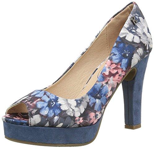 Refresh 61737 - Scarpe con Tacco Donna , Multicolore (Blu Jeans), 39