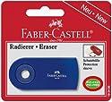 Faber Castell-gomme Sleeve Plastique Avec Etui Pivotant