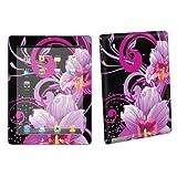 Buy Apple iPad 2 Tablet Decal Vinyl Skin Purple Flower Black By Skinguardz