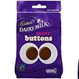 Cadbury Dairy Milk Giant Buttons 155g