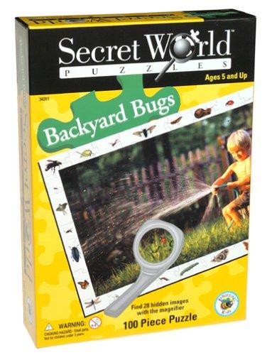 Cheap University Games Secret World Backyard Bugs Jigsaw Puzzle 100pc (B000087BE2)