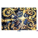 Poster 91.5 x 61 cm - &#34;Doctor Who - Exploding Tardis&#34;von &#34;POSTERLOUNGE&#34;