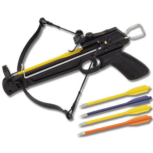 80 pound mini crossbow for Fishing crossbow pistol