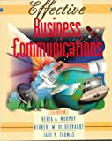 Effective Business Communications (007044398X) by Herta A Murphy