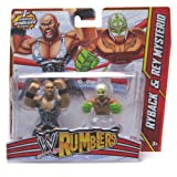 Ryback and Rey Mysterio WWE Rumblers Action Figure 2 Pack