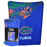 "NCAA Lightweight Fleece Blanket (50"" x 60"") - Florida Gators at Amazon.com"