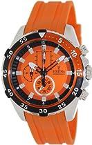 Festina F16604-3 Mens Chrono Orange Watch