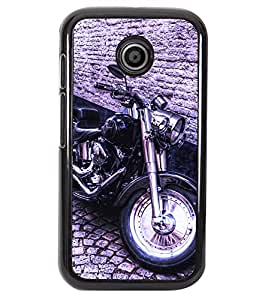 Printvisa 2D Printed Bike Designer back case cover for Motorola Moto E - D4501