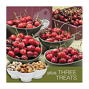 Deluxe One Savory Father's Day Gift Basket - Cherries and Nuts