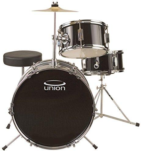 union-uj3-3-piece-junior-drum-set-black