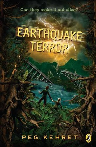 Cover of Earthquake Terror (Puffin Novel)