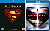 The Complete Superman Blu Ray [6 Discs]Collection: Superman 1, Superman 2, Superman 3, Return To Quest, Superman Returns, Man of Steel + Extras + Features
