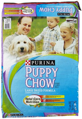 Purina 178114 Puppy Chow Large Breed, 16.5-Pound front-257377