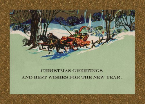 Vintage 1922 Reproduced Christmas Cards 5×7 25 Cards