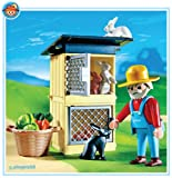 Playmobil Rabbit Hutch