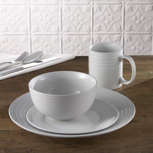 Waverly Concentric Circles 16-Piece Dinnerware Set