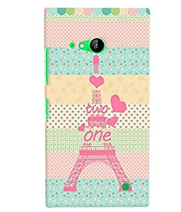 Citydreamz Back Cover For Microsoft Lumia 730|