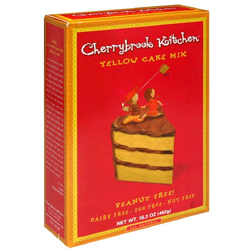 Cherrybrook Kitchen Yellow Cake Mix, 16.3-Ounce Box (Pack of 6)