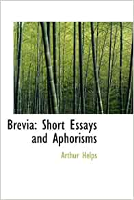essays and aphorisms free download
