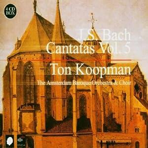 J.S. Bach : Cantatas, Vol. 5