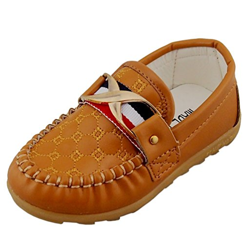 1. DADAWEN Classic Slip-on Loafers Oxford Flat Shoes