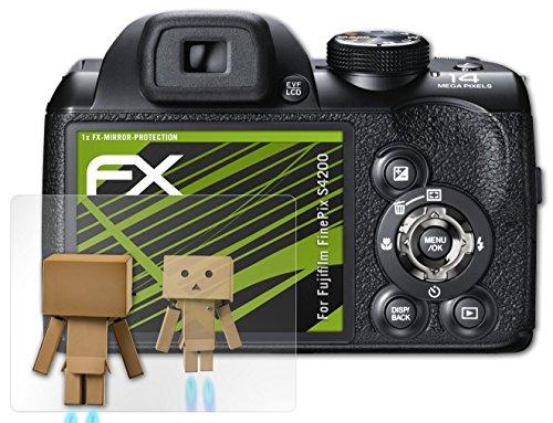atfolix-proteccion-de-pantalla-fujifilm-finepix-s4200-lamina-protectora-espejo-fx-mirror-con-efecto-