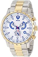 Brillier Men's 16-08 Endurer Gold Chronograph Swiss Quartz Watch by Brillier